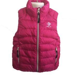 Polo Ralph Lauren Kids Girls Reversible Down Vest